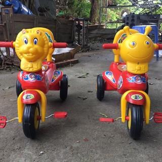 Xe đạp 3 bánh hình thú sư tử, hổ, voi, cún cho bé, xe đạp chân trẻ em giá rẻ phù hợp cho trẻ từ 1 - 4 tuổi thumbnail