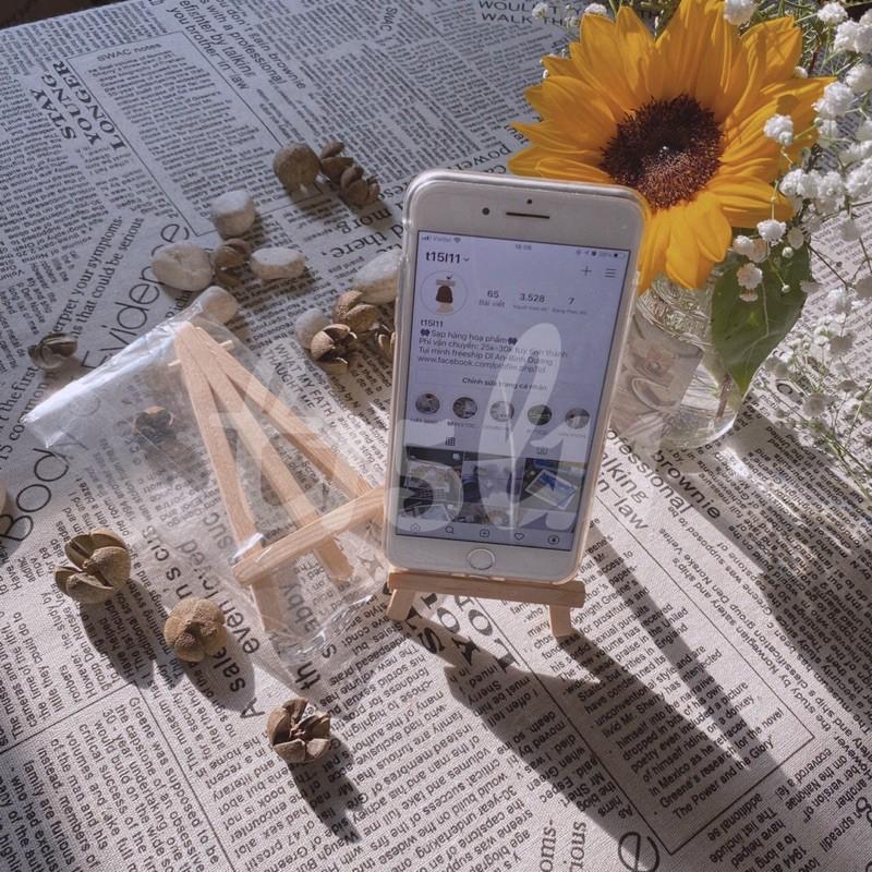 [t15l11] Giá gỗ để tranh/điện thoại trang trí