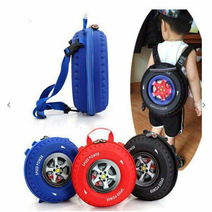 Balo 3D hình bánh xe đáng yêu cho bé - 3098798 , 1003929012 , 322_1003929012 , 130000 , Balo-3D-hinh-banh-xe-dang-yeu-cho-be-322_1003929012 , shopee.vn , Balo 3D hình bánh xe đáng yêu cho bé