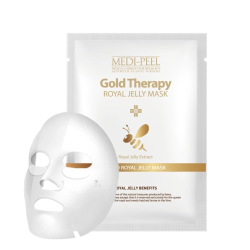 Mặt Nạ Giấy Medi-Peel Gold Therapy Royal Jelly Mask - 2601235 , 19042977 , 322_19042977 , 23000 , Mat-Na-Giay-Medi-Peel-Gold-Therapy-Royal-Jelly-Mask-322_19042977 , shopee.vn , Mặt Nạ Giấy Medi-Peel Gold Therapy Royal Jelly Mask