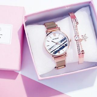 Đồng hồ đeo tay thời trang nam nữ cực đẹp Tacona DH34 Siêu Hot