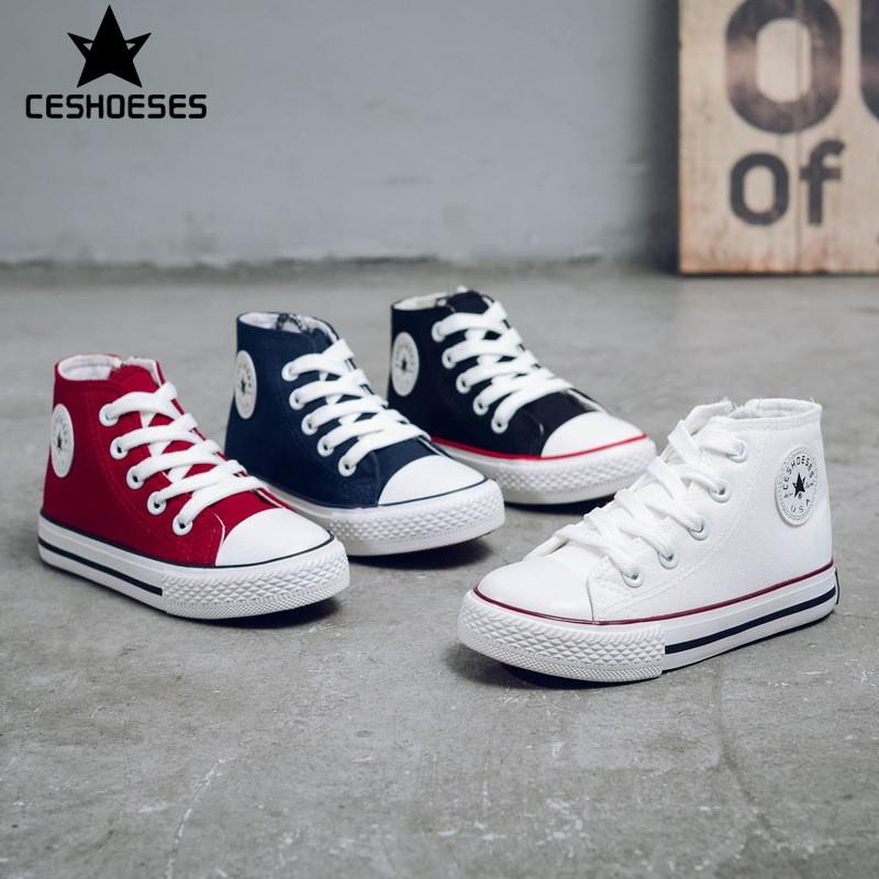 [Lẻ size thanh lý]Giày Thể Thao Kiểu Dáng Converse Cổ Lửng G36