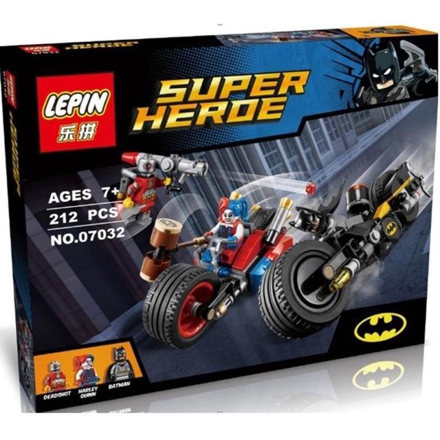 Lego super hero 07032- Cuộc rượt đuổi Miêu nữ