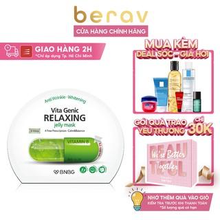 Mặt Nạ Giấy Thư Giãn & Phục Hồi Da Mệt Mỏi BNBG Vita Genic Relaxing Jelly Mask(Vitamin B) 30ml