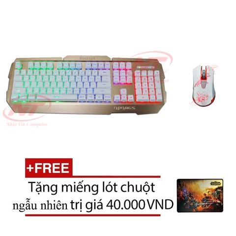 Bộ bàn phím giả cơ và chuột chuyên game RDRAGS R300 - 1625 (Trắng) + Tặng kèm lót chuột - 2519679 , 213259976 , 322_213259976 , 416000 , Bo-ban-phim-gia-co-va-chuot-chuyen-game-RDRAGS-R300-1625-Trang-Tang-kem-lot-chuot-322_213259976 , shopee.vn , Bộ bàn phím giả cơ và chuột chuyên game RDRAGS R300 - 1625 (Trắng) + Tặng kèm lót chuột