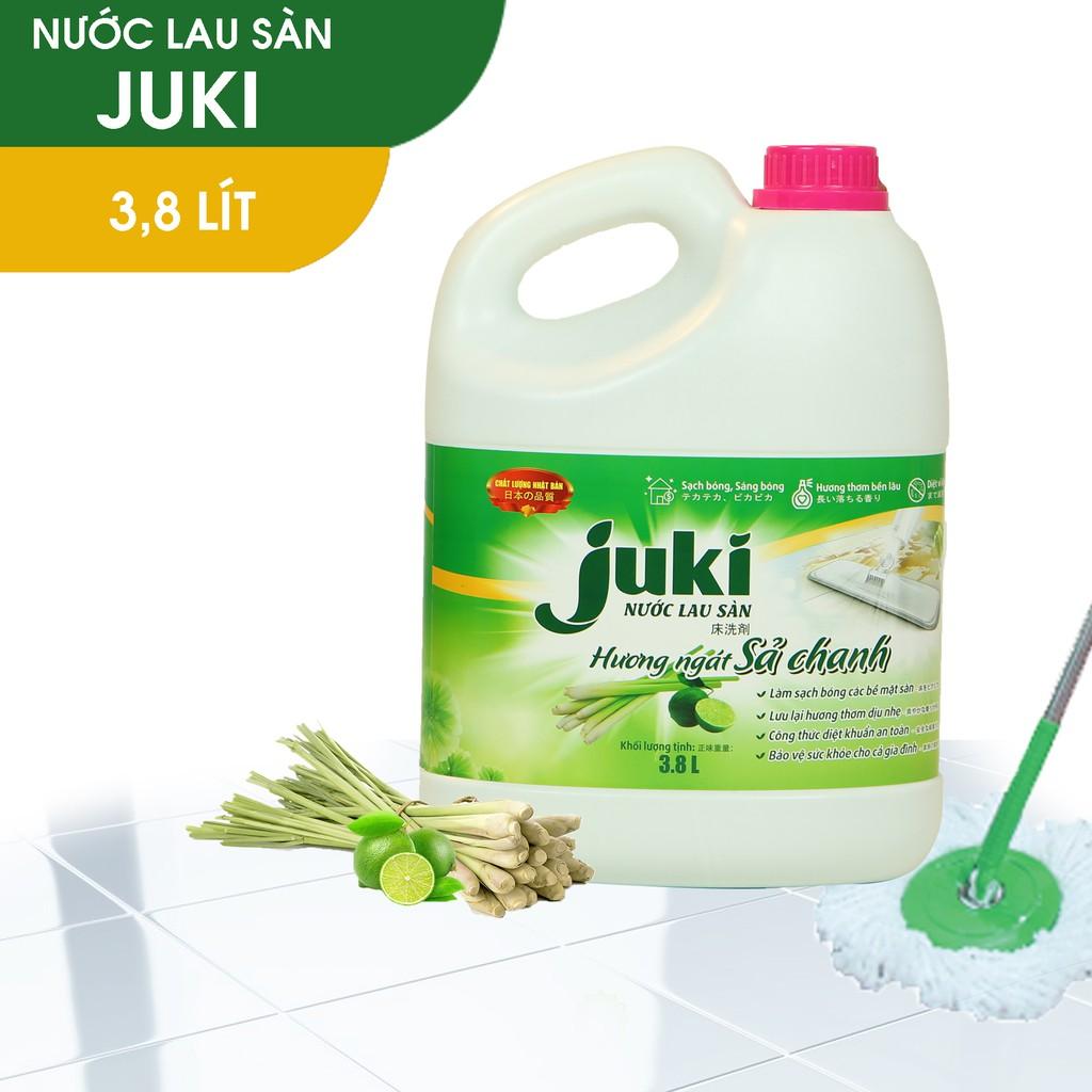Nước lau sàn JUKI 3,8 Lít ( Hương sả chanh)