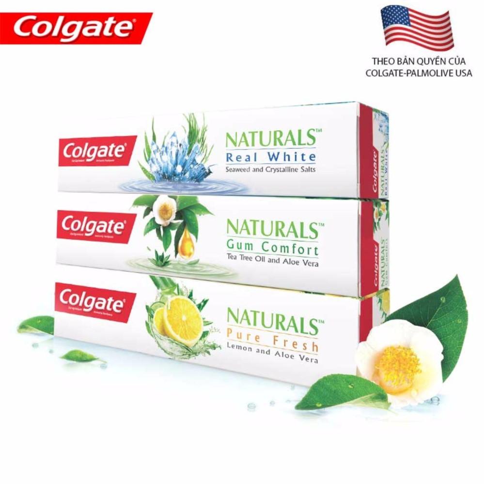 Bộ 3 sản phẩm kem đánh răng Colgate cao cấp Natural chiết xuất thiên nhiên 180g - 3256878 , 842313087 , 322_842313087 , 147000 , Bo-3-san-pham-kem-danh-rang-Colgate-cao-cap-Natural-chiet-xuat-thien-nhien-180g-322_842313087 , shopee.vn , Bộ 3 sản phẩm kem đánh răng Colgate cao cấp Natural chiết xuất thiên nhiên 180g