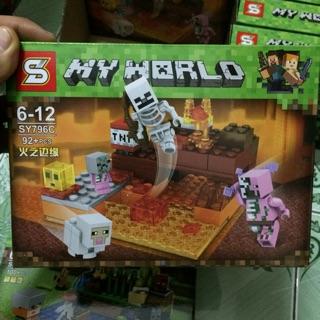 Mẫu mô hình Lego SL Sy796C My World