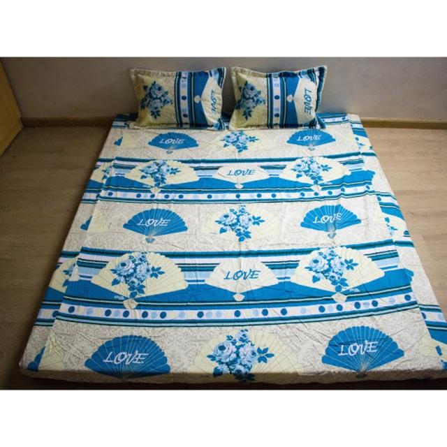 Ga gối Thắng Lợi hình quạt màu xanh dương xen trắng bộ 1 ga giường 2 vỏ gối đầu chất mát mềm minh th - 3450176 , 771826560 , 322_771826560 , 249000 , Ga-goi-Thang-Loi-hinh-quat-mau-xanh-duong-xen-trang-bo-1-ga-giuong-2-vo-goi-dau-chat-mat-mem-minh-th-322_771826560 , shopee.vn , Ga gối Thắng Lợi hình quạt màu xanh dương xen trắng bộ 1 ga giường 2 vỏ gố