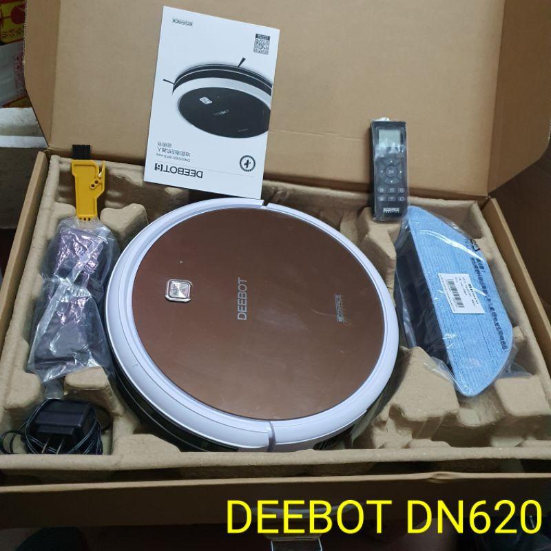 Robot hút bụi lau nhà Deebot DN620 hàng trưng bày chưa qua sử dụng
