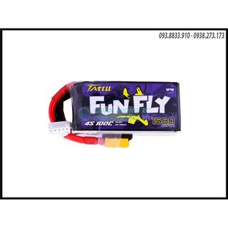 Pin Funfly 1550mAh 14.8V 100C 4S1P