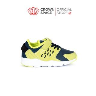 Giày Thể Thao Bé Trai Bé Gái Đi Học Siêu Nhẹ Êm Crown Space UK Sport Shoes CRUK8021 Trẻ em Cao Cấp Size 28-35/2-14 tuổi