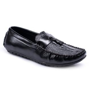 Giày Lười Nam Đẹp Đế Khâu Có Chuông M117 HOT