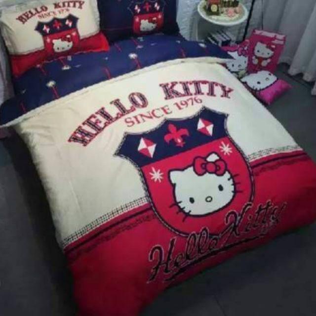 ชุดเครื่องนอน ผ้านวม ลายHello Kitty