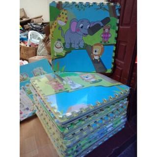 4 tấm Thảm xốp ghép hình 60x60cm