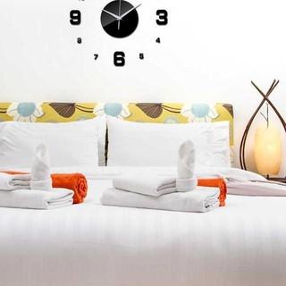 ➦ Đồng hồ treo tường mặt thạch anh cỡ lớn 50-60cm – DIY-08 ✴