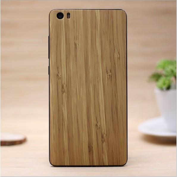 Xiaomi Mi Note - Nắp Nhựa Vân Gỗ