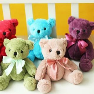 Gấu Teddy Nhồi Bông Nhiều Màu Sắc Xinh Xắn Cho Bé