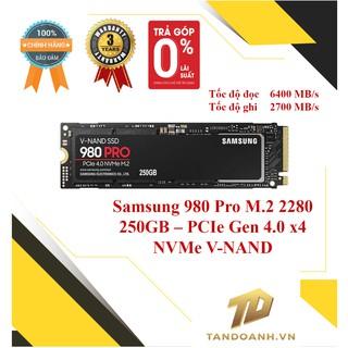 Ổ cứng SSD Samsung 980 Pro 250GB-500GB PCIe Gen 4.0 x4 NVMe SSD