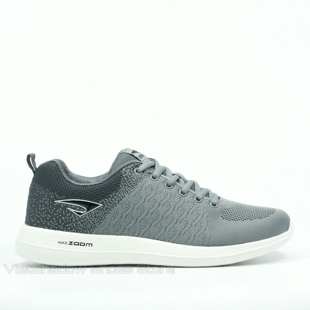 Giày thể thao nam | Sneakers nam thương hiệu Maoda màu đen - Mã SP 2213-ghi