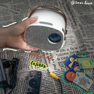 ✅Free Ship ✅🎬 Máy Chiếu Phim Lejiada YG230 LED HD Mini Độ Phân Giải 1080p- (Tặng dây HDMI + 10 stickers trang trí)🎬