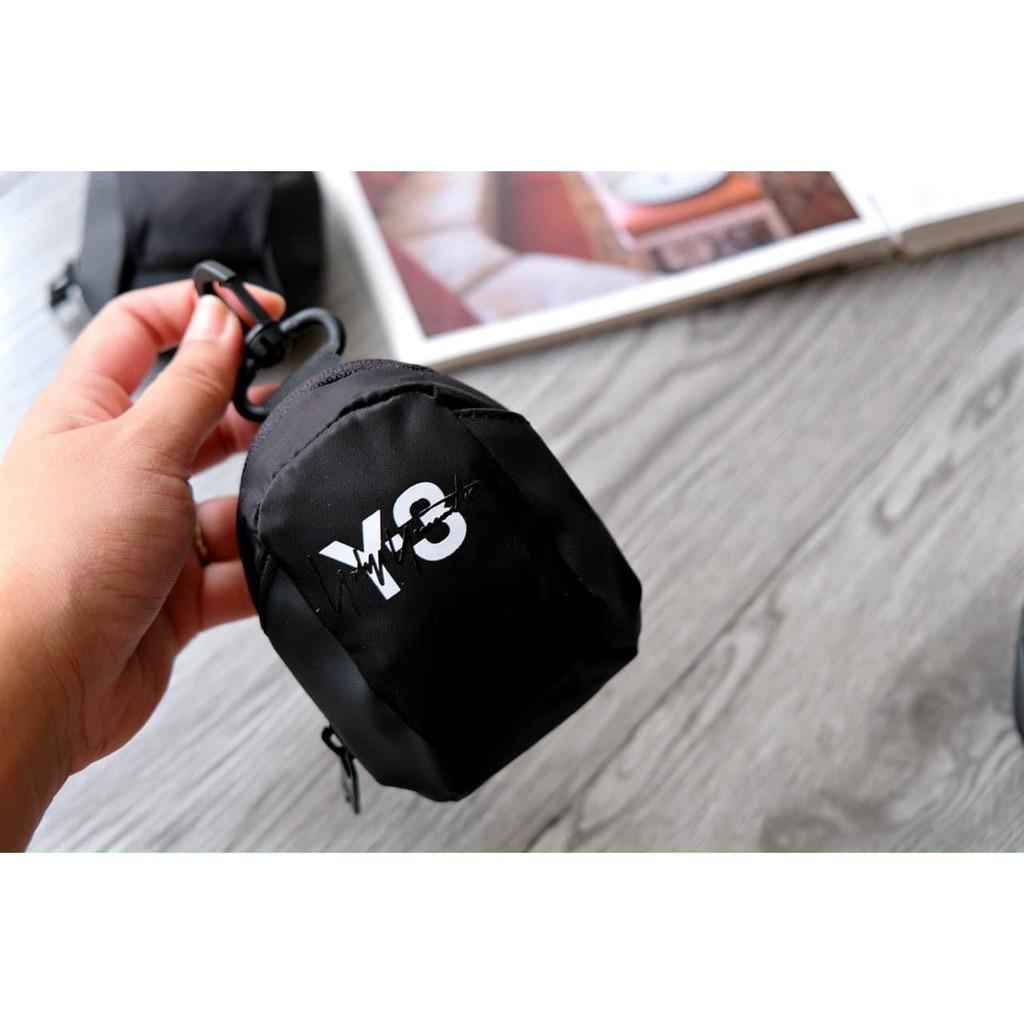 Móc chìa khóa Y/3- có ngăn để thẻ và các vật dụng nhỏ siêu tiện lợi