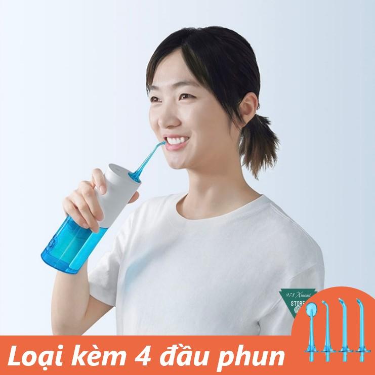 [GIÁ HỦY DIỆT] Máy tăm nước Xiaomi Soocas W3 - Xịt vệ sinh răng miệng Xiaomi Sooc
