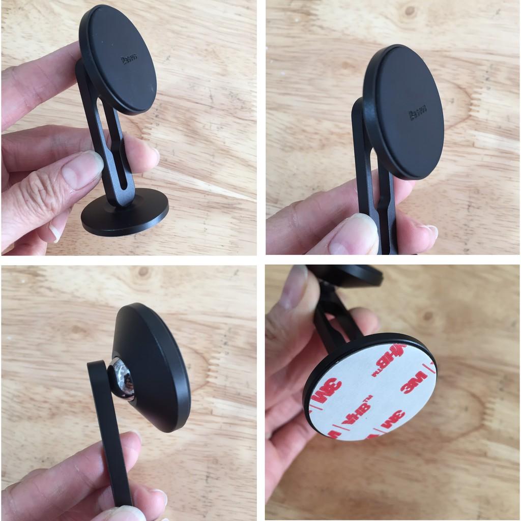 [Dán táp-lô]Giá đỡ điện thoại trên oto Baseus Hollow Magnetic