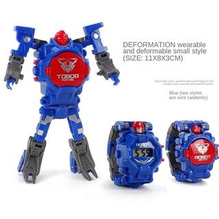 Đồng Hồ Đeo Tay Điện Tử Hình Robot Hoạt Hình Cho Bé