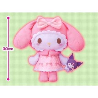 Gấu bông My Melody – Girly Pink Big Plushy new