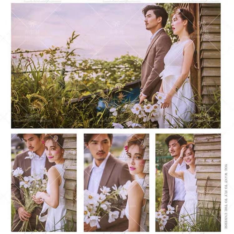 ty ใหม่อุปกรณ์ประกอบฉากการถ่ายภาพงานแต่งงานขนาดเล็กสดดอกไม้เดี่ยว