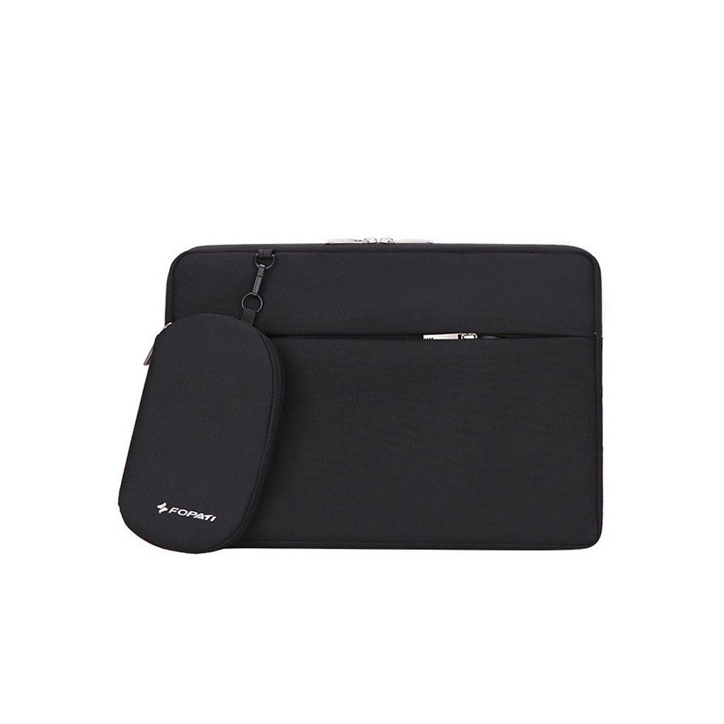 Túi Chống Sốc Macbook Laptop Cao Cấp 13 inch, 14 inch, 15.6 inch  FO-PA-TI Siêu bền (Tặng kèm túi đựng sạc)