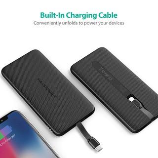 """Pin Sạc Dự Phòng RAVPower 5000mAh Tích Hợp Cáp Sạc Lightning cho iPhone, iPad RP-PB098 giá chỉ còn <strong class=""""price"""">65.700.000.000đ</strong>"""
