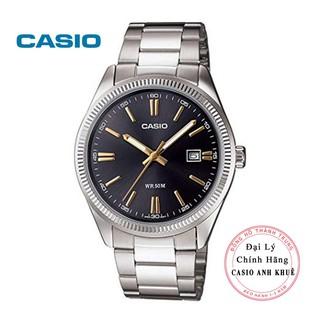 Đồng hồ nam Casio MTP-1302D-1A2VDF dây kim loại
