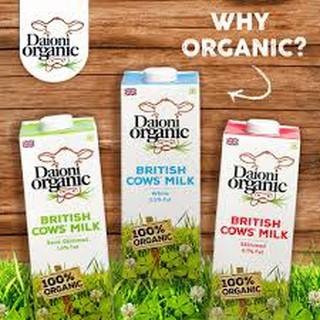 Sữa hữu cơ Daioni 1L
