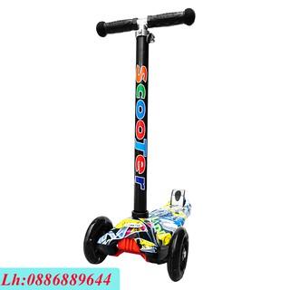 Xe Trượt Scooter Họa Tiết Cho Bé TY-01