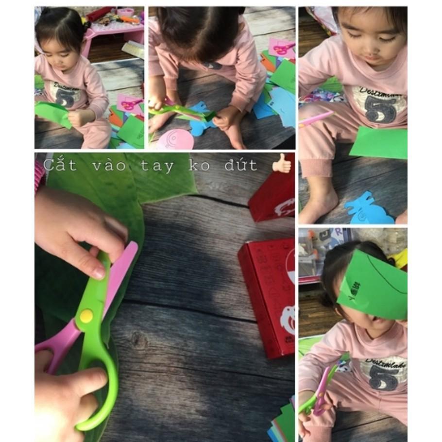 [SALE SẬP SÀN]  Bộ cắt giấy - Đồ chơi cho bé | Bán Chạy