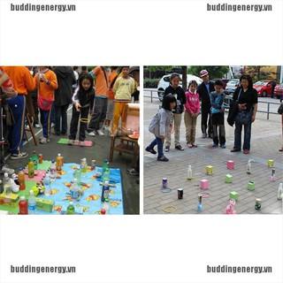 {buddi} 10 Pcs Colorful Hoopla Ring Toss Cast Circle Sets Educational Toy Puzzle Kids{LJ}