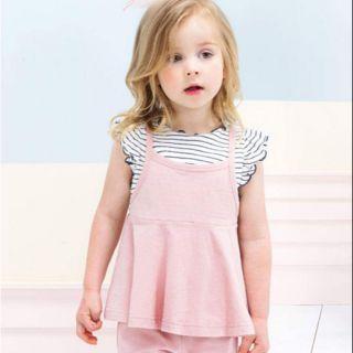 Áo váy bé gái Petite Minuex size 110