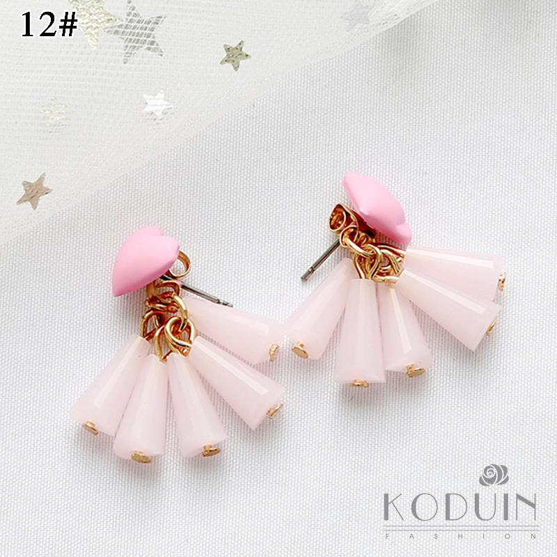 Fashion Earrings Attractive Stud Earrings Korean Geometric Cool Fresh