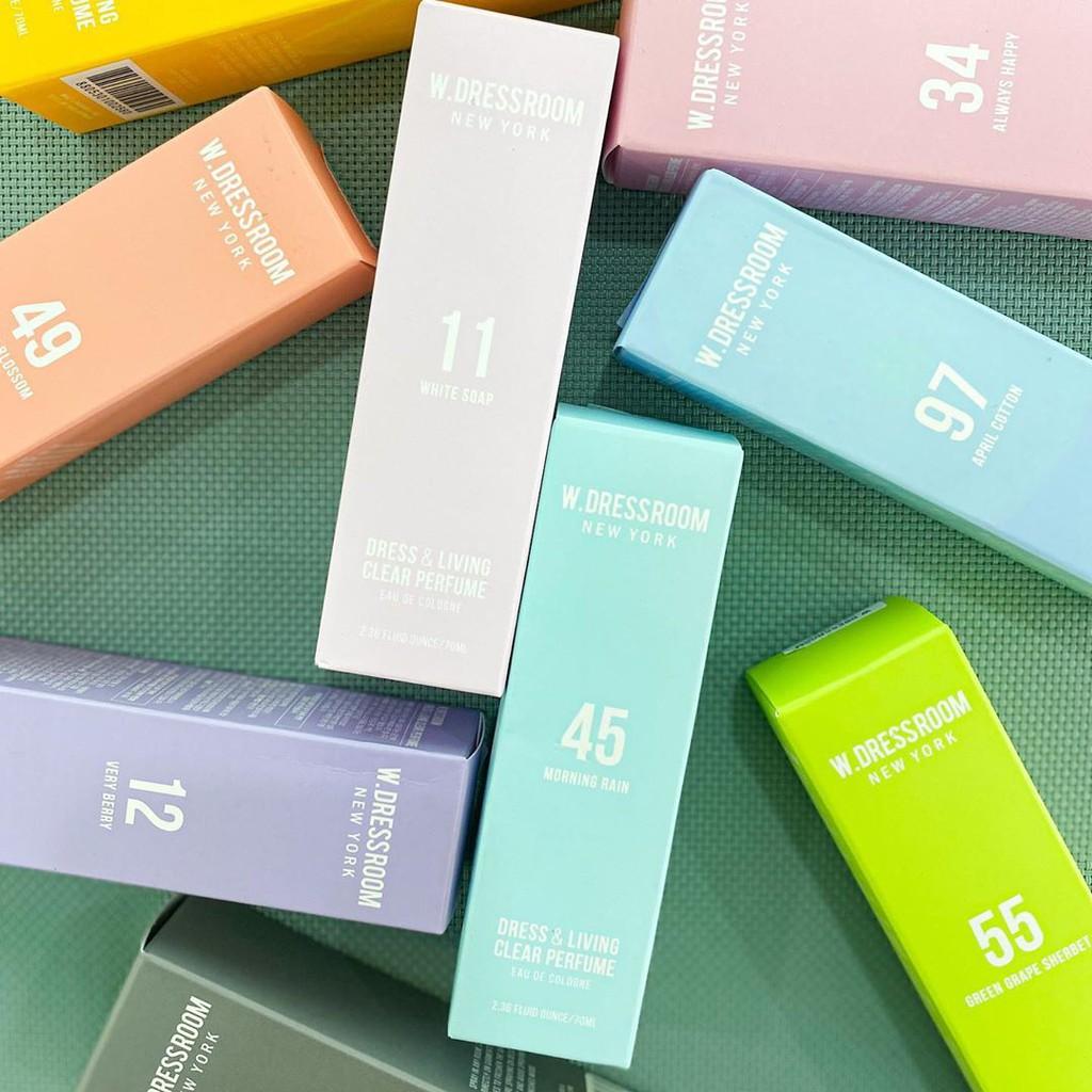 🌸Nước hoa xịt thơm quần áo W.Dressroom mùi 75,76,77,97,49,81,82,83...chính hãng 100%, đủ các mùi.