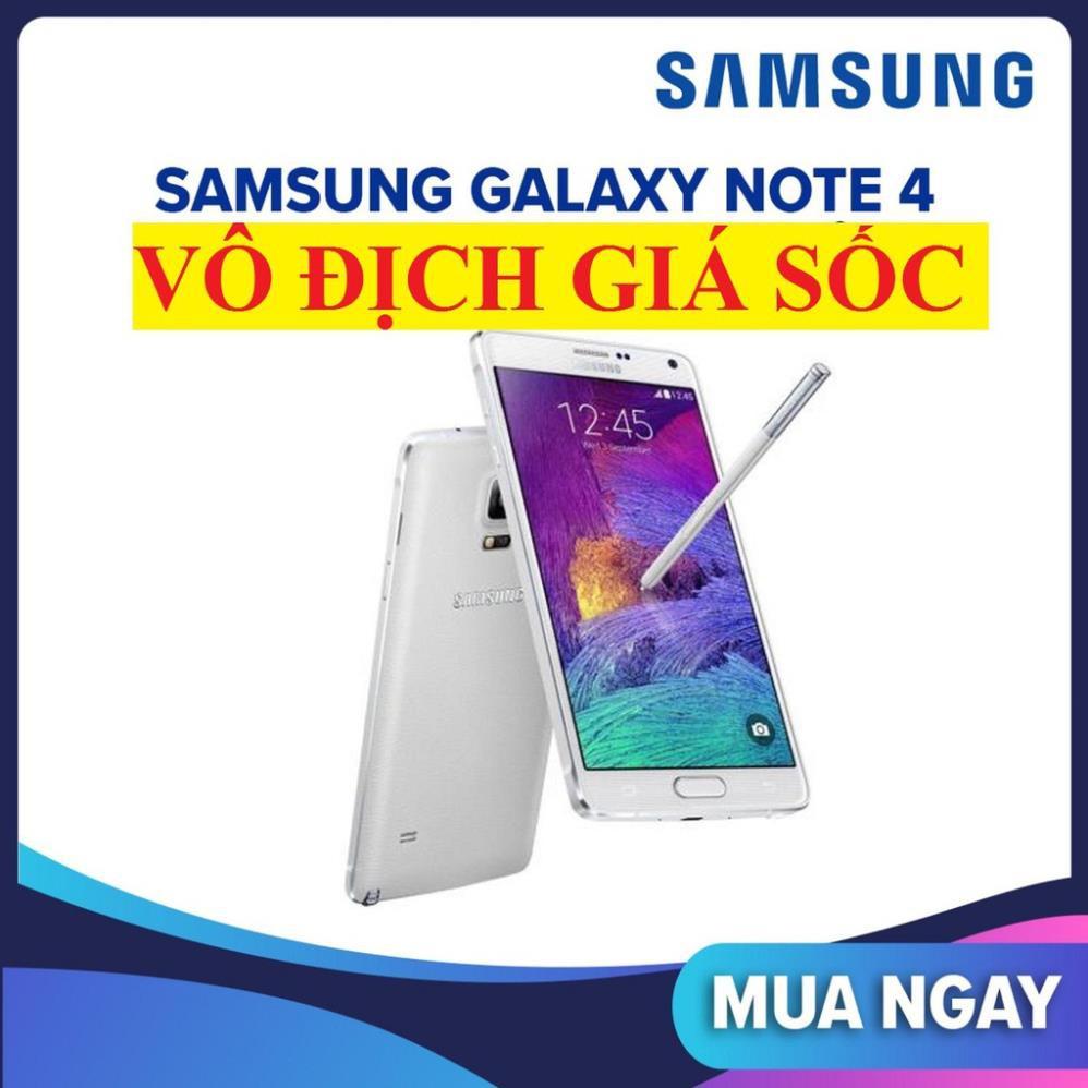 Điện thoại Samsung Galaxy Note 4 2sim mới Fullbox, Chơi PUNG mượt