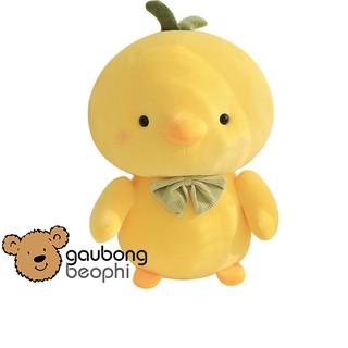 Thú bông hình gà đeo nơ quà tặng cho bạn gái đồ chơi trẻ em ý nghĩa shop gấu bông béo phì