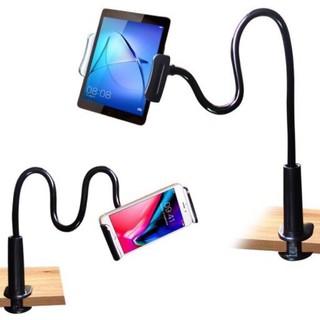 Giá đỡ điện thoại để bàn để giường, kẹp điện thoại ipad đa năng thumbnail