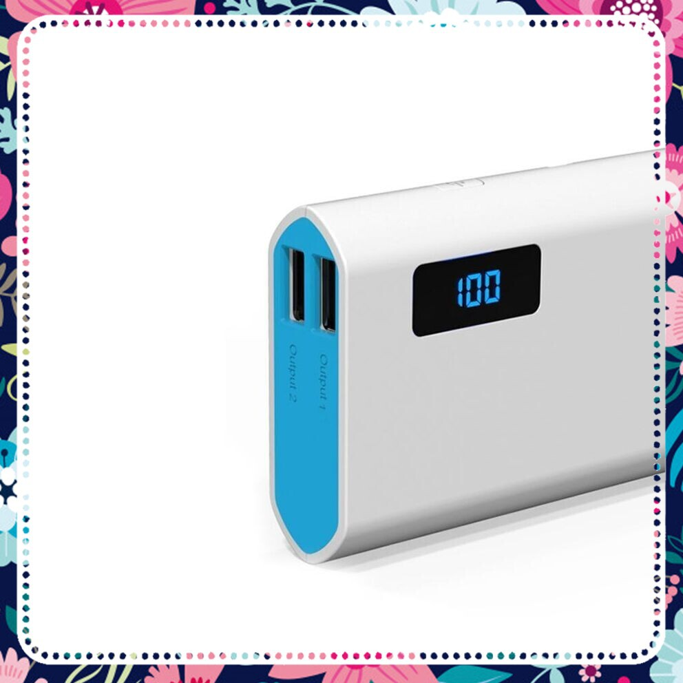 [HÀNG CHẤT GIÁ SỐC] Pin dự phòng Arun 10000 LCD-Y50 dung lượng 10000mAh (Trắng)