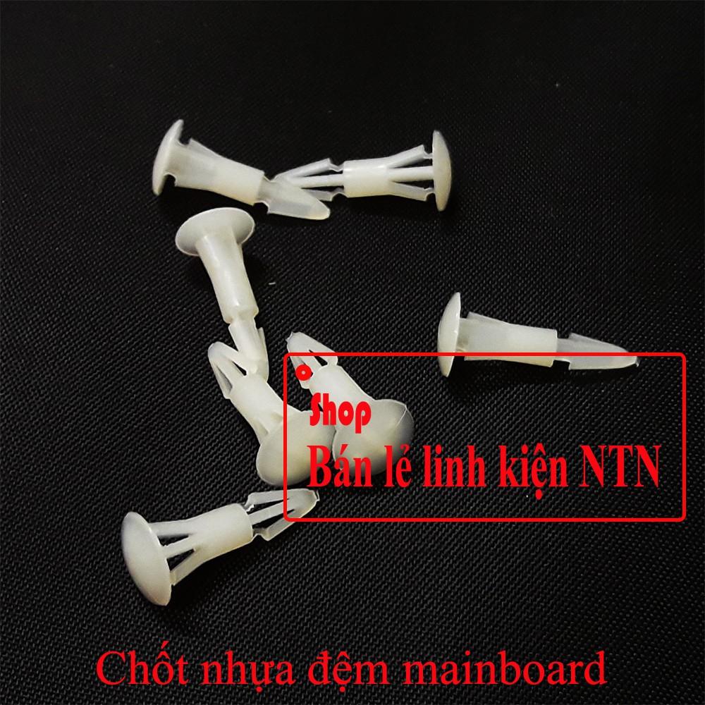 Chốt nhựa đệm board mạch - 3366958 , 1173327980 , 322_1173327980 , 5000 , Chot-nhua-dem-board-mach-322_1173327980 , shopee.vn , Chốt nhựa đệm board mạch