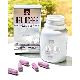 [Chính Hãng - 60 Viên] Viên Uống Trắng Da Heliocare Purewhite Radiance Max 240 thumbnail