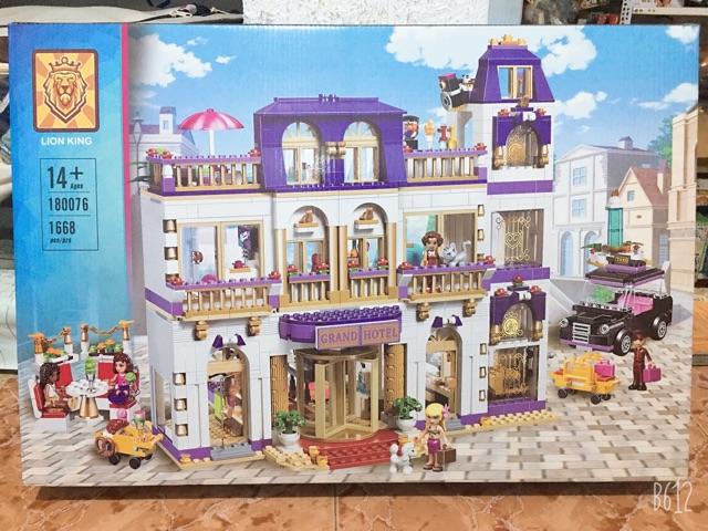 Đồ chơi xếp hình Friends 01045/ Friend 10547/ 180076 Đại khách sạn Heartlake Grand Hotel