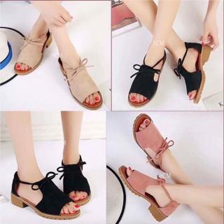 Giày sandal chiến binh thắt nơ - SD-0157