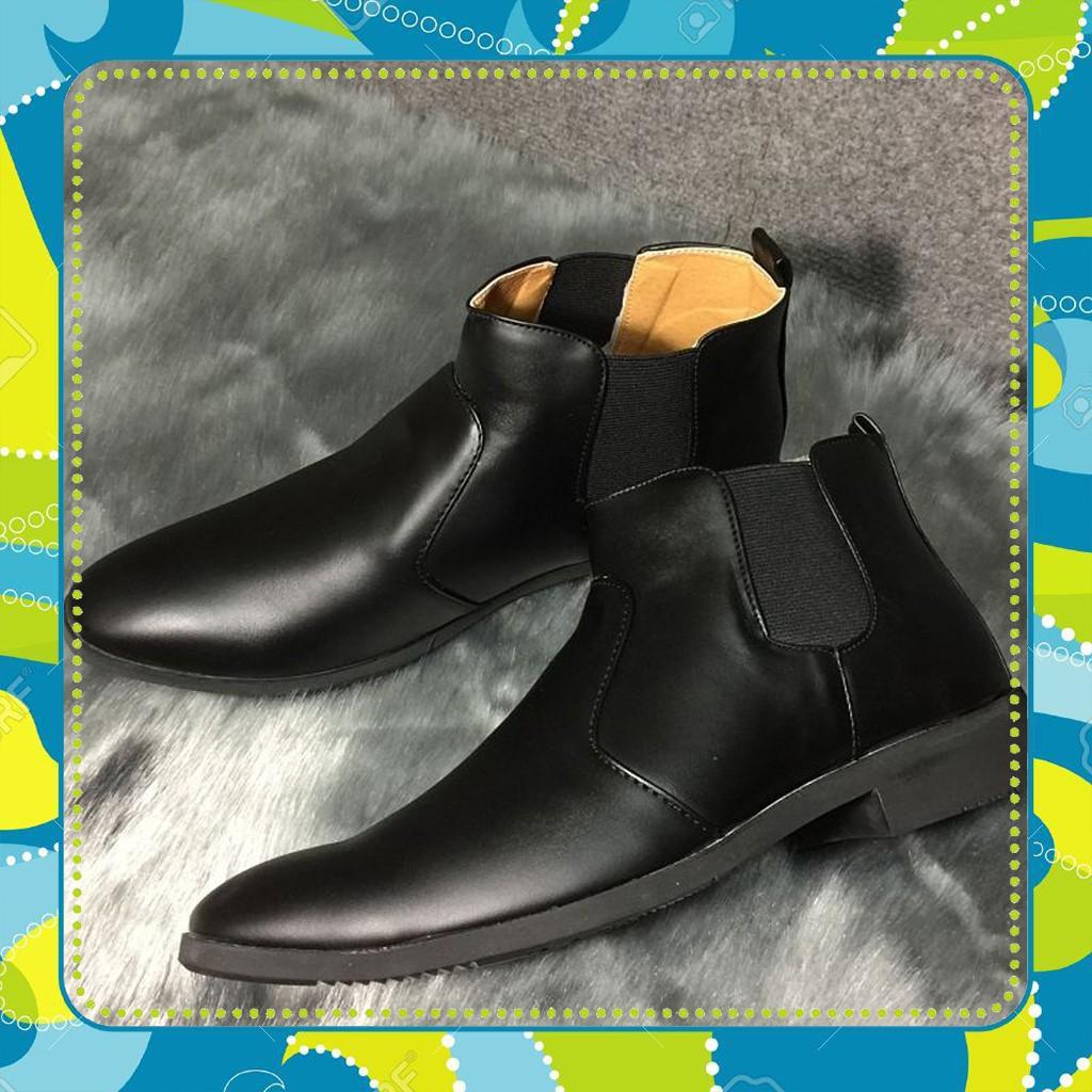 [HẠ GIÁ ĐÓN THU] [SIÊU HOT] Giày Boot Chelsea nam cổ cao bán chạy giá rẻ